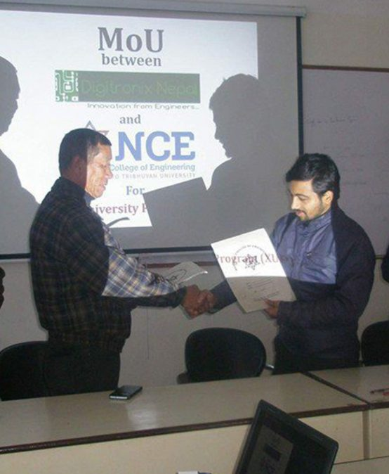 MOU with Digitronix Nepal